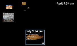 geologic time calendar