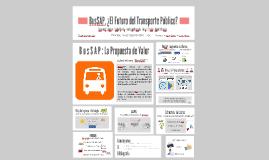BusSAP: El Futuro del Transporte Público