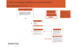 Understanding children's mathematical development LA.C - 2