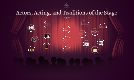 Actors, Acting, Theatre Music, and Traditions of the Stage