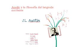 Copy of Austin y la filosofía del lenguaje corriente.