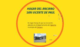 HOGAR DEL ANCIANO SAN VICENTE DE PAUL