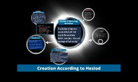 Mythology Creation Story
