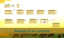 Biología de la Lactación