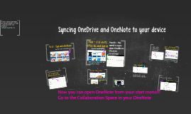 Syncing OneDrive and OneNote to your device