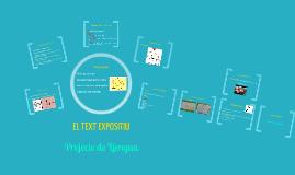 Copy of EL TEXT EXPOSITIU