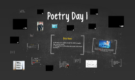 Poetry Day 1