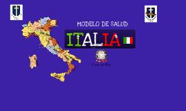 MODELO DE SALUD ITALIA
