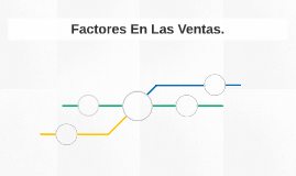 Factores En Las Ventas.
