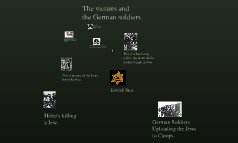 The victims and the German soldiers