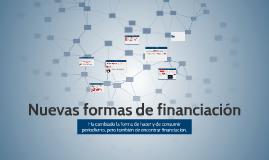 Nuevas formas de financiación