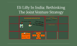 eli lilly in india rethinking the joint Essay on eli lily case eli lilly in india: rethink the joint venture strategy milton cahuasqui - 2228384 question 1 i think that eli lilly was very smart in pursuing a joint.
