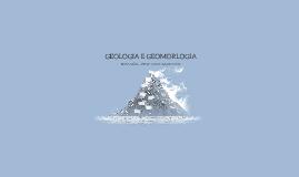 GEOLOGIA E GEOMORLOGIA