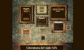 Copy of Literatura del siglo XIX