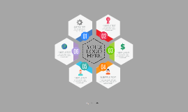 Cópia de Hexagon Infographic - Free Prezi Template