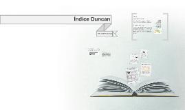 Copy of Índice Duncan