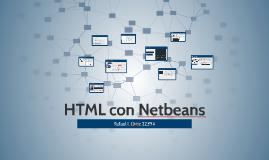 HTML con Netbeans