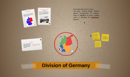 Division of Germany