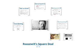 Copy of Teddy Roosevelt's Square Deal