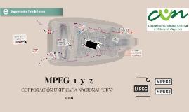 MPEG - 1  //  MPEG - 2