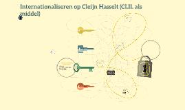 CLIL op Cleijn Hasselt