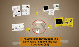 The American Revolution: The Early Years (6.1)