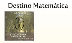 Destino Matemática