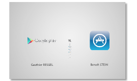 Google Play vs. Apple Store