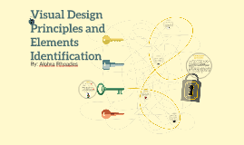 Visual Design Principles and Elements Identification