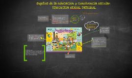 DESARROLLO INSTITUCIONAL DE EDUCACIÓN sEXUAL INTEGRAL