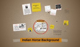 Indian Horse background