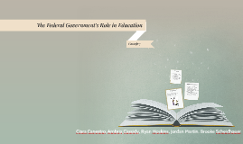 The Federal Government's Role in Education