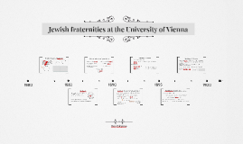 Jewish Fraternities at the Vienna University