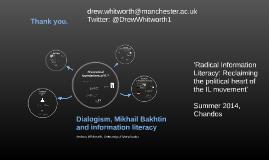 Dialogism, Mikhail Bakhtin