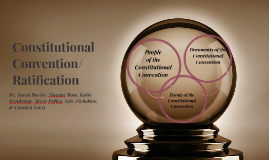 ConstitutionalConvention/ Ratification