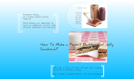 How to Make a Peanut Butter and Jelly Sandwich?