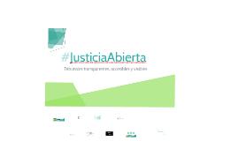 #JusticiaAbierta RRM