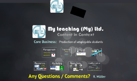 My Teaching (Pty) Ltd.
