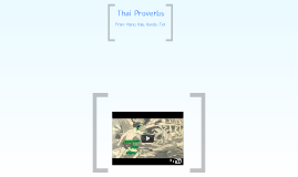 Thai project