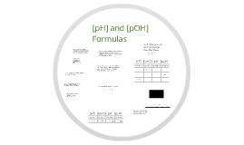 pH/pOH