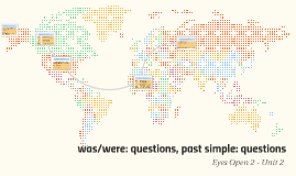 was/were: questions, past simple: questions