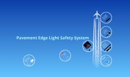 2013 Pavement Edge Light Safety System