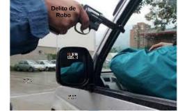 Delito de Robo