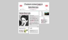 El Prendimiento de Antonio Camborio de Federico Garcia Lorca