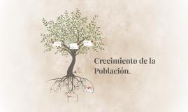 Crecimiento de la Población.