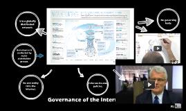 Governance of the Internet