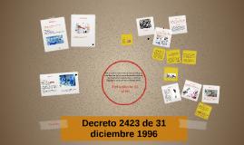 Decreto 2423 de 1996