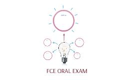 FCE ORAL EXAM