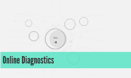 Online Diagnostics
