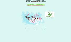 ERIKA ALCANTAR MORA